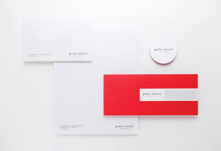 Peter Street Condominiums All Stationery