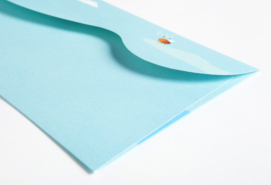 Love Condominiums Stationery Envelope
