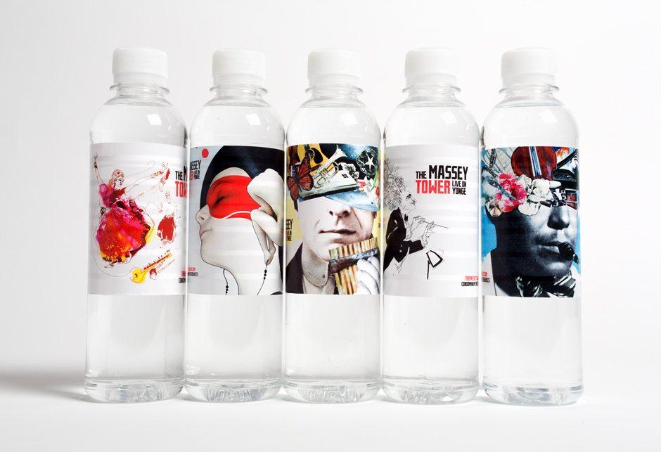 Massey Tower Condominiums Water Bottles