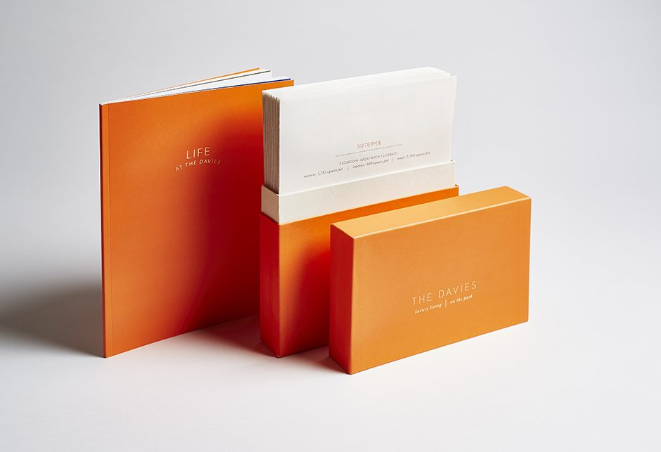 The Davies Brochure Box
