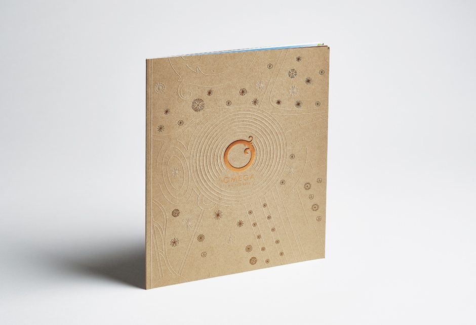 Omega Brochure Cover