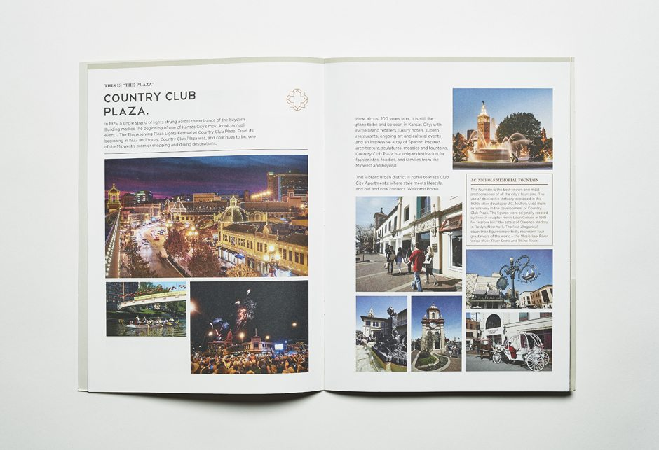 Plaza Club Brochure Spread