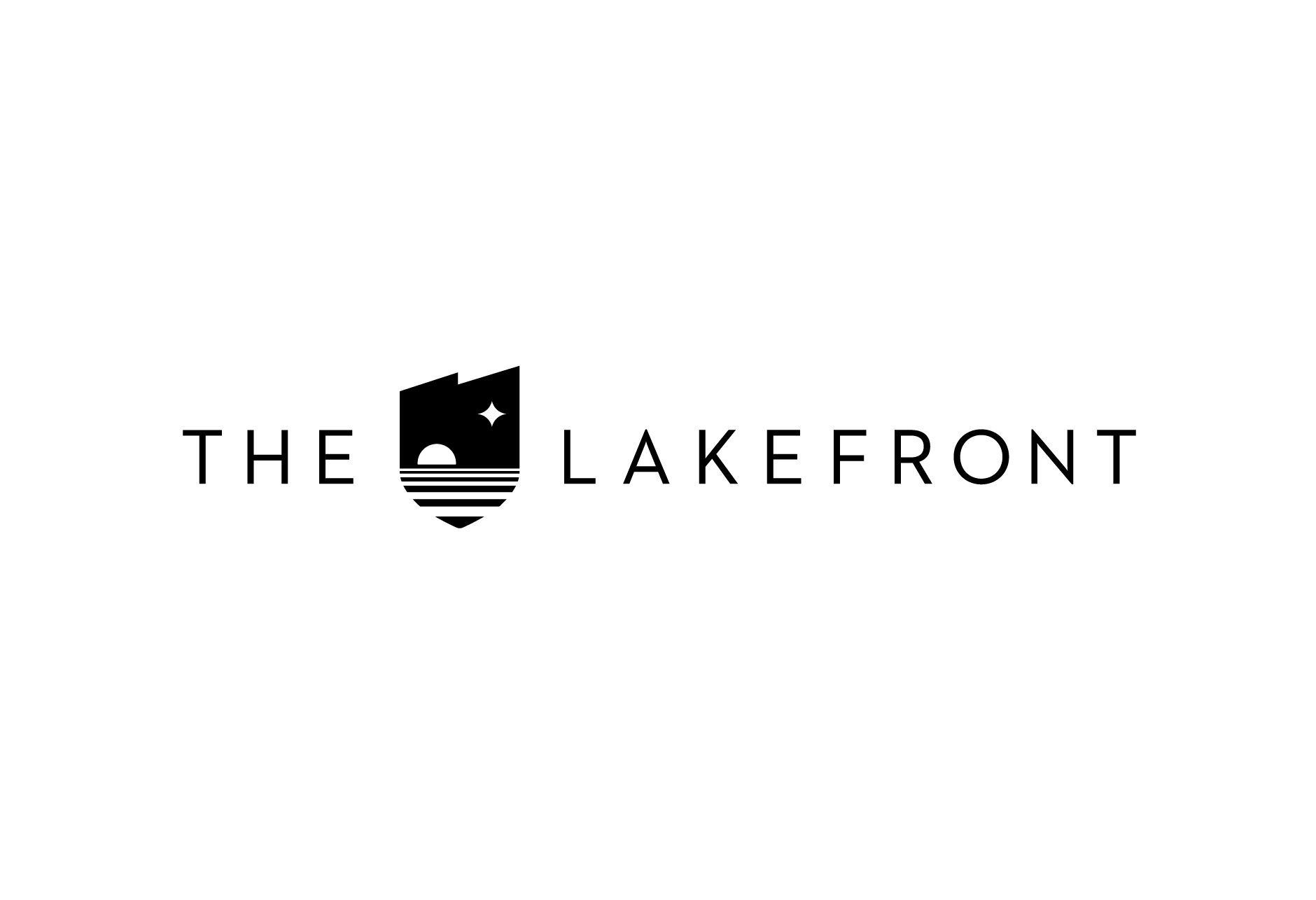 The Lakefront Logo