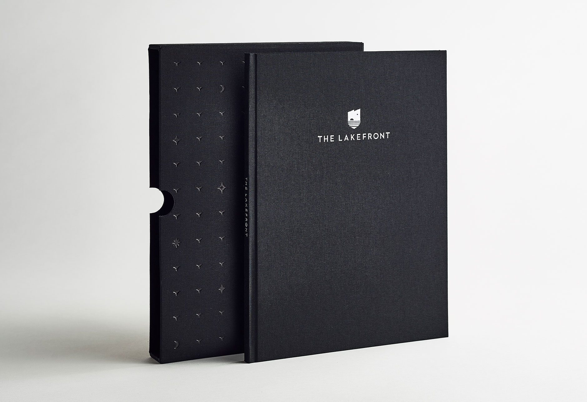 The Lakefront Brochure box
