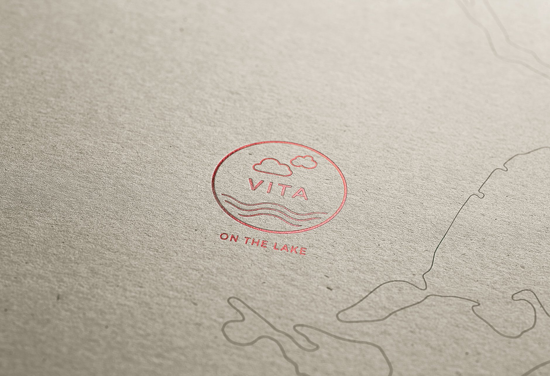 Vita Brochure Cover Detail