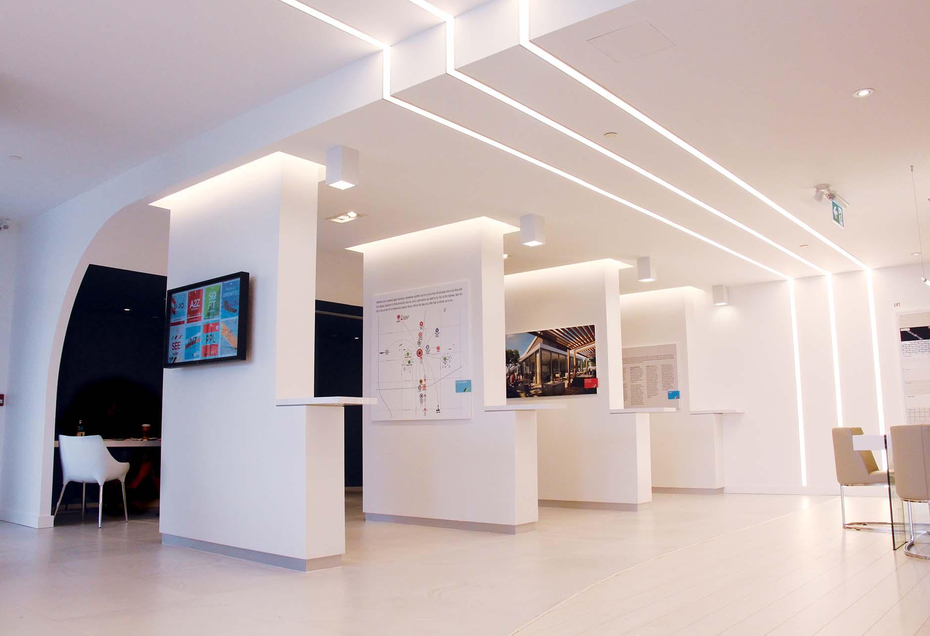 Avro Sales Centre interior