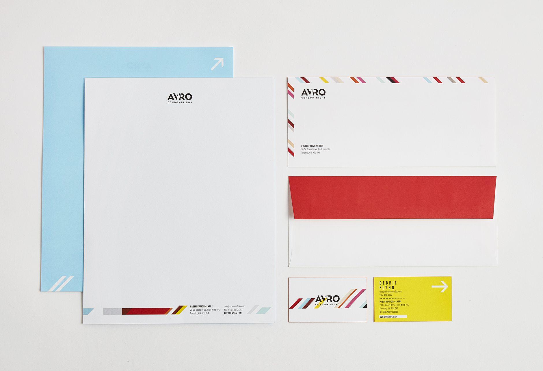 Avro stationery